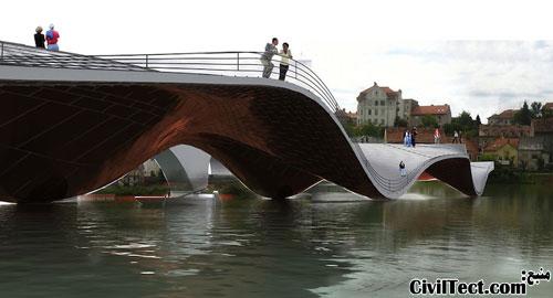 طرح پل جدید برای شهر ماربور اسلوونی