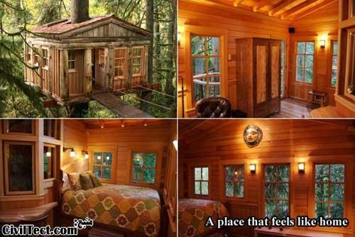 جالبترین خانه های درختی – قسمت ۲