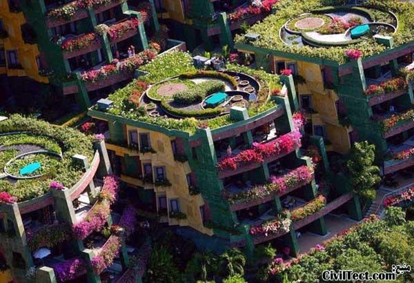 آپارتمانهای جالب - آپارتمانهای زیبا در تایلند