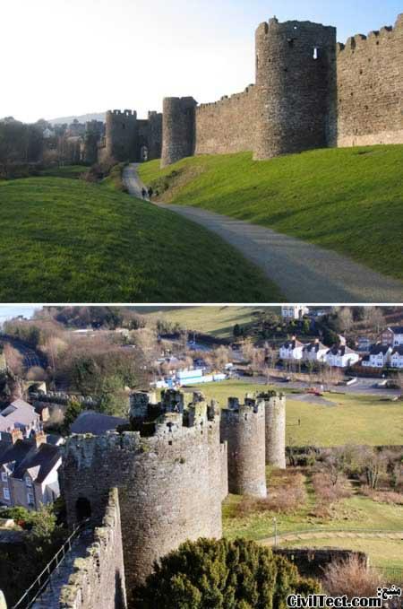 دیوار Conwy - معروفترین دیوارهای جداکننده جهان