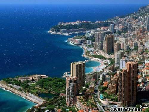 کوچکترین کشورهای دنیا - موناکو
