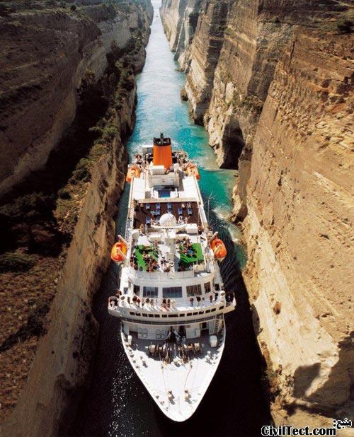 کانال کورنت در یونان