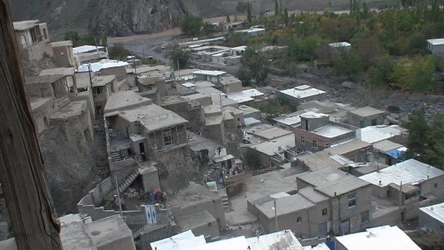 روستای تاریخی کهبنان در شهرستان میانه