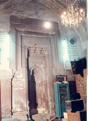 مسجد سنگ روستای ترک از توابع شهرستان میانه