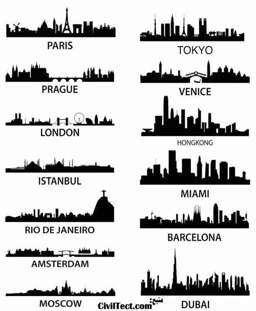 معماری شهرهای معروف جهان در یک نگاه!