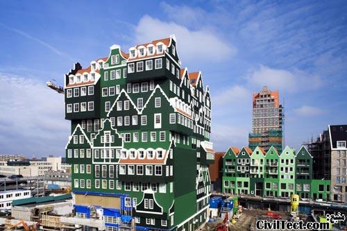 هتلی با طرح جالب