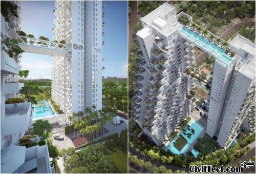 Bishan-Central-Singapore - برجهای دوقلوی بشن مرکزی سنگاپور