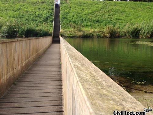 پل حضرت موسی - پل غرق شده