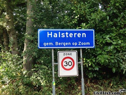 Halsteren در bergen op zoom هلند