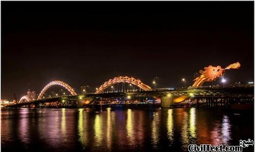 پل اژدها - ویتنام Dragon Bridge Vietnam