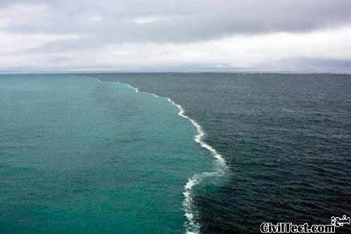 جایی که دو دریا به هم میرسند!