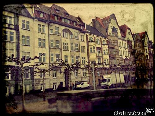 خانه های موجود در قسمت قدیمی شهر (Altstadt)