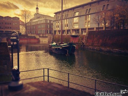 شهر دوسلدورف آلمان