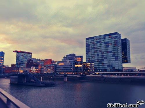 بندر دوسلدورف آلمان - Dusseldorf Germany