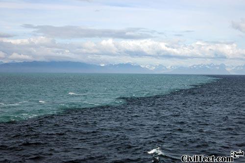 محل تلاقی دو دریا