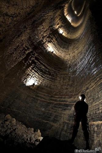 Krubera-Cave-Voronya-Cave - عمیق ترین غار کره زمین