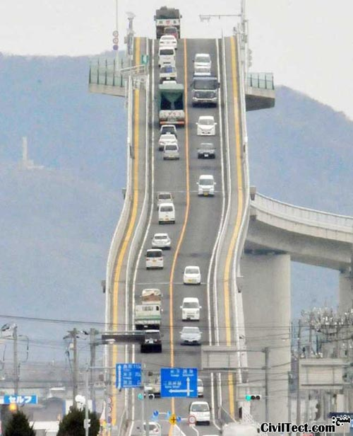 پل اجیما در ژاپن