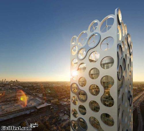 برج COR – معیاری برای سبز زیست محیطی
