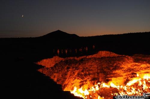 دروازه جهنم در ترکمنستان
