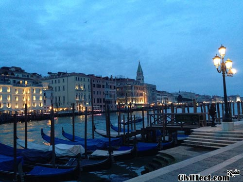 سفر سیویلتکتی به ونیز ایتالیا – شهری روی آّب!