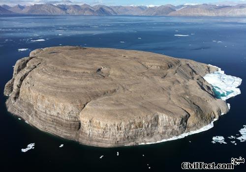 جزیره هانس دانمارک/کانادا