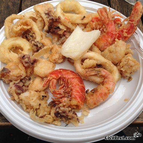 غذاهای دریایی مارکت ریالتو