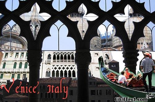 معماری ونیزی – ترکیبی از شرق و غرب