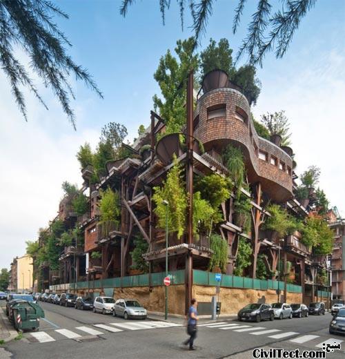 جنگل شهری تورین ایتالیا