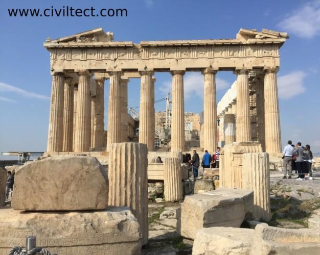 معبد پارتنون در آکروپولیس