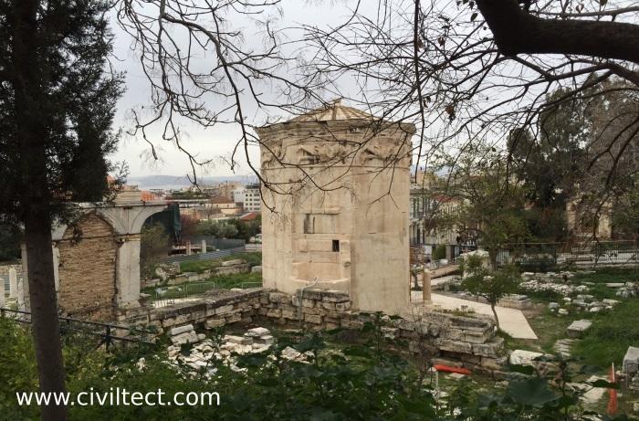 برج ساعت آگورآی رومی ها