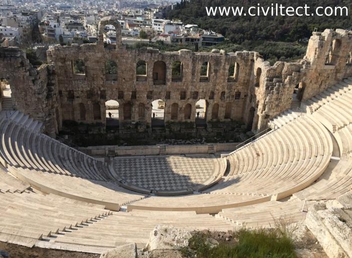 تئاتر اودئون هرودس آتیکوس