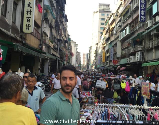 بازار مرکزی تایپه تایوان