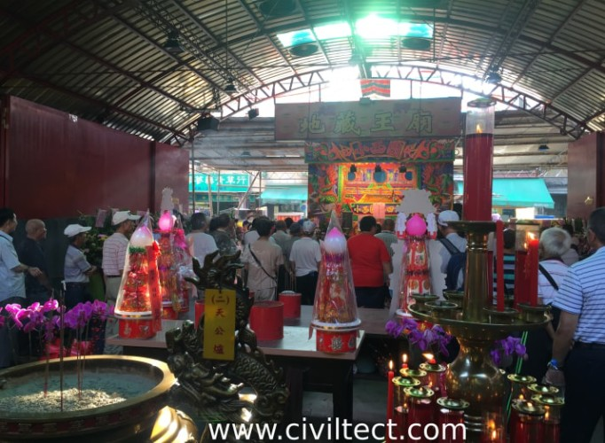 نمایش عروسکی در بازار تایپه